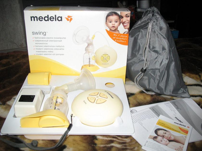 Молокоотсос Medela Swing электрический