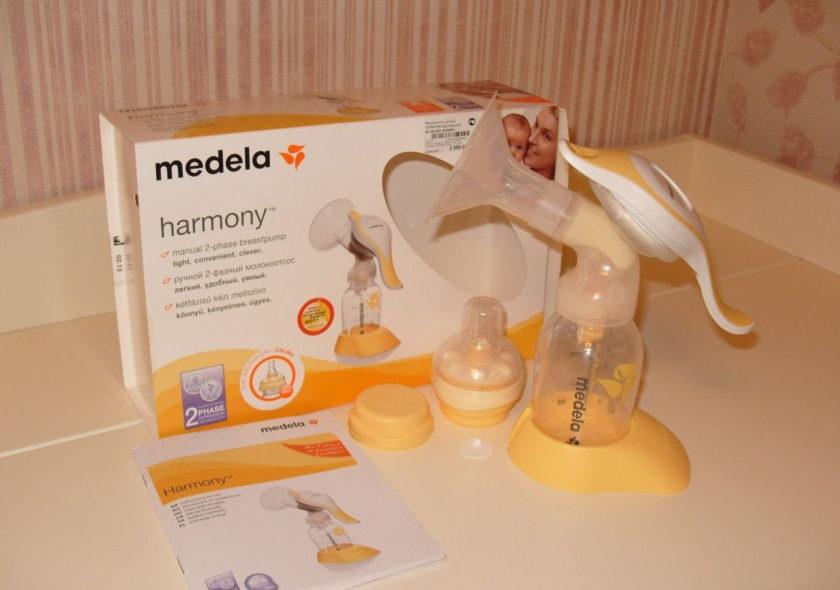 Молокоотсос ручной двухфазный Medela Harmony