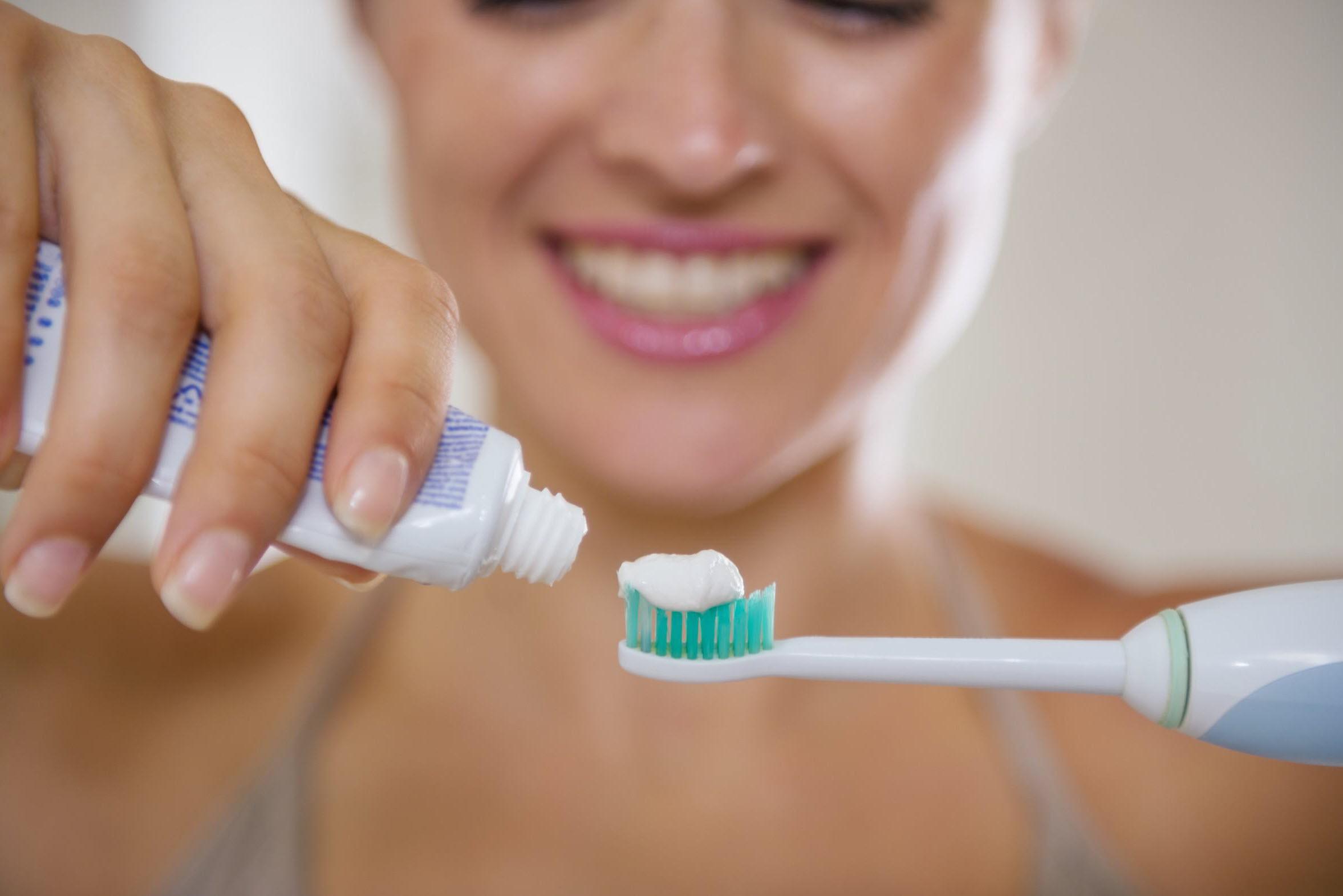 паста для электрической зубной щеткой